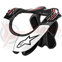 Protectie gat  Alpinestars BNS Pro black/red/white
