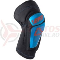 Protectie Leatt Knee Guard 3DF 6.0 fuel/black