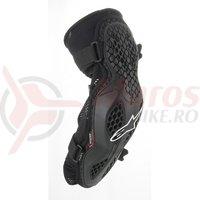 Protectii cot Alpinestars Bionic Pro negru/rosu