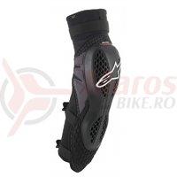 Protectii genunchi/tibie Alpinestars Bionic Pro negru/rosu