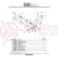 RD-M972 Shimano XTR surub rola ghidare M5x12.6