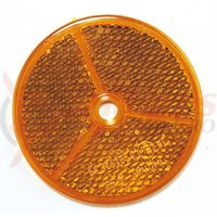 Reflectorizant B&M 6.2 cm diametru galben