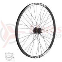 Roata fata 26 Force Basic Disc 559x19 6 suruburi