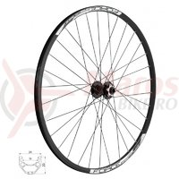 Roata fata 28/29 Force Basic Disc 622x19 6 suruburi ax 15 mm