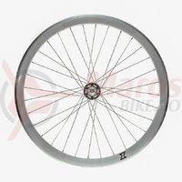 Roata fata single speed/fixie 700x32H-40 mm SXT silver