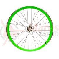 Roata spate single speed/fixie 700x32H-40 mm SXT verde