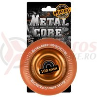 Roata trotineta MetalCore 100mm orange/orange fluorescent