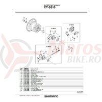 Role Shimano CT-S510