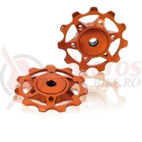 Rotite schimbator XLC orange compatibil Shimano 8/9/10-G Campa