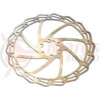 Rotor disc frana Bikeforce 180mm, 6 suruburi