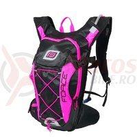 Rucsac Force Aron Pro Plus 10L+2L negru/roz