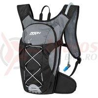 Rucsac Force Aron Pro Plus 10L+2L gri/negru