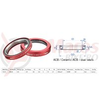 Rulment cuvete FSA Super Light TH-870R ACB 45x45 1