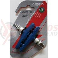 Saboti Ashima AP65V-P-EA 3FUN, 72mm, pentru E-Bike, albastri