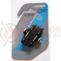 Saboti Ashima ARS45CR-P-B-CA1, cursiera, 55mm, ptr.jante de carbon, negri