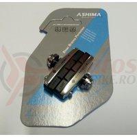 Saboti Ashima ARS45CR-P-M-AL, cursiera, 55mm, argintiu/negru