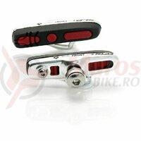 Saboti de frana XLC Road ABS 2 perechi 55mm Black/Red