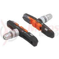 Saboti frana Force 70mm negru/portocaliu/gri ambalati
