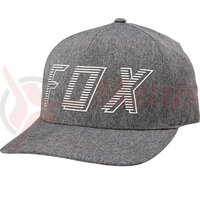 Sapca Fox Barred Flexfit Hat drk gry