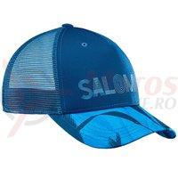 Sapca Salomon Urban Mantra Logo Cap albastra femei