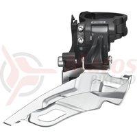 Schimbator fata Shimano Deore FD-M611 3x10v tragere dubla 34.9mm 40/42T CS 66-69 negru