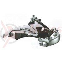 Schimbator fata Shimano Tourney FD-TY500-TS6 3x6/7v tragere dubla 34.9mm CS 66-69 42T chainline 47.5/50mm