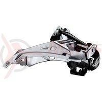 Schimbator fata Shimano Tourney FD-TY710-TS6 3x7/8v top swing tragere dubla 34.9mm CS 66-69 48T chainline 47.5/50mm