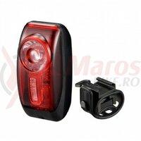 Sclipitor Infini I-407R Vista, 1 led rosu 0,5Watt, 3 functii, negru, bateri incluse, 30gr
