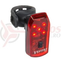 Sclipitor Ventura Helios 5 leduri indicator nivel baterie bateri incluse negru