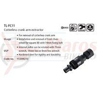 Scula Shimano TL-FC11 cheie pentru demontat angrenaj pedalier cotterless