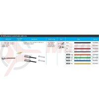 Set cablu/camasa de frana Shimano Road BC-9000 cablu 1000/2000mm si capete alb