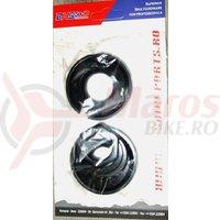 Set cuveti pedalier, BMX 2005A negru