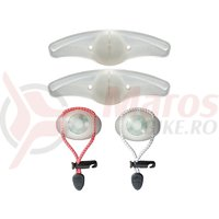 Set lumini Cateye Loop SL-LD110 2 Buc + Orbit SL-LD120 2 Buc