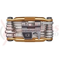 Set scule Multi Tool Crankbrothers M19 Gold