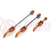 Set strangatoare rapide XLC QR-L05 culoare orange