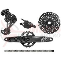 Set transmisie Sram GX Eagle DUB 1x12 175 mm