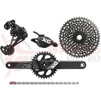 Set transmisie Sram X01 Eagle DUB 1x12 brat 175mm, CL49mm