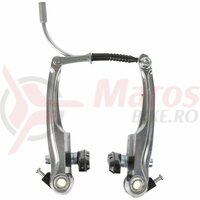 Set V-Brake aluminiu M-Wave silver 113 mm