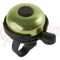 Sonerie aluminiu M-Wave Rotary Action 53 mm verde