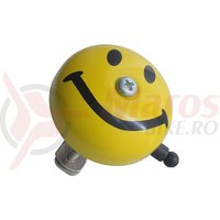 Sonerie Anno 17C D30mm Smiley galbena