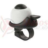 Sonerie M-Wave alu Mini-bell alb/negru 36mm