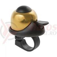 Sonerie M-Wave alu Mini-bell auriu/negru 36mm