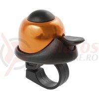 Sonerie M-Wave alu Mini-bell portocaliu/negru 36mm