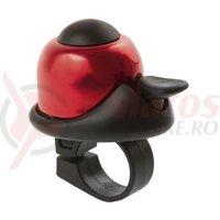 Sonerie M-Wave alu Mini-bell rosu/negru 36mm