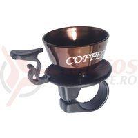 Sonerie Nuvo ceasca cafea maro