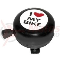 Sonerie otel 'I love my bike' neagra