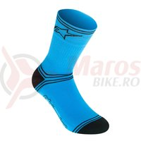 Sosete Alpinestars Winter atoll blue/black