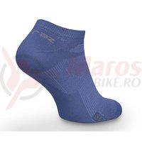 Sosete Davraz sneakers bumbac albastre