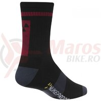 Sosete Nukeproof Blackline socks Black/Red