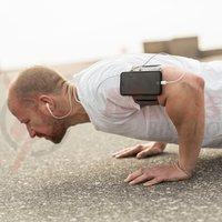 SP Connect suport telefon pe brat Fitness Bundle Samsung S7 Edge